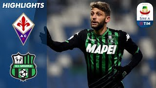 Fiorentina 0-1 Sassuolo | Berardi's strike gives the visitors the win | Serie A