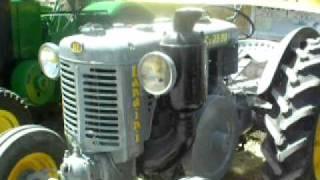 tracteur landini en action pour amateur de vieux tracteur !!!!!!