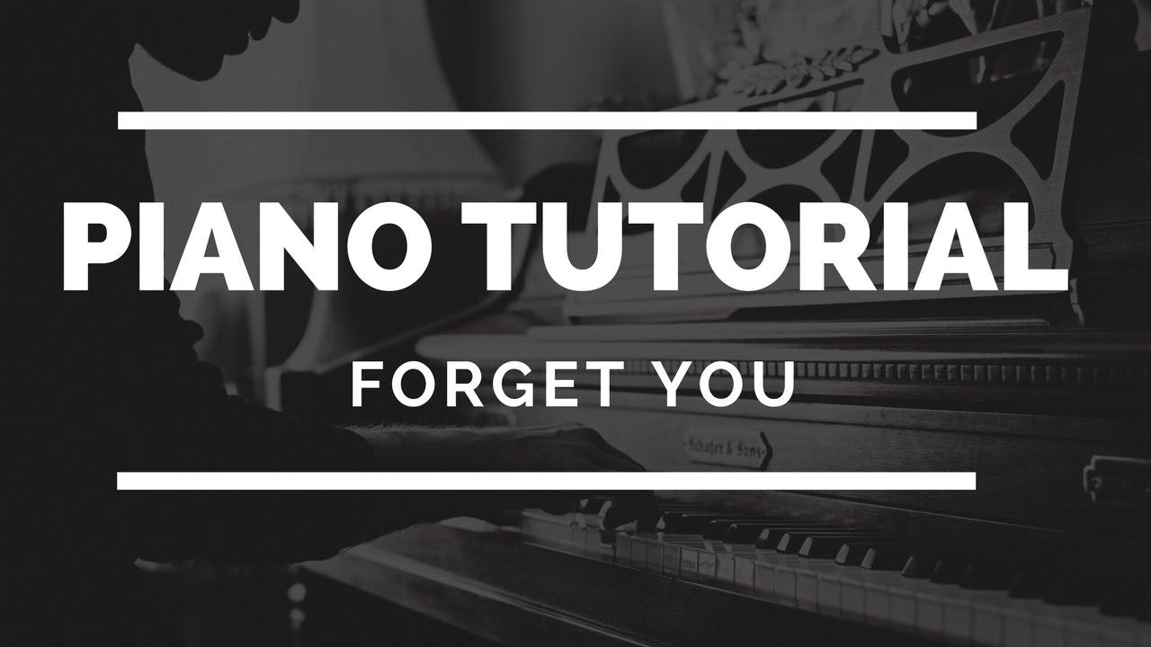 Forget you piano tutorial beginner pianopig youtube forget you piano tutorial beginner pianopig hexwebz Images