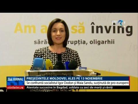 Alegeri prezidenţiale în Republica Moldova: Igor Dodon şi ...