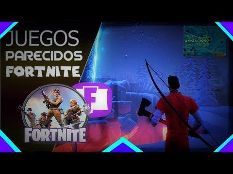 🎮TOP 5 Juegos Parecidos A FORTNITE Para PC (Pocos Y Medios Requisitos) [2018]
