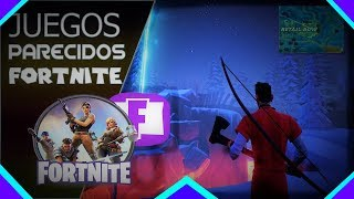 🎮TOP 5 Juegos Parecidos a FORTNITE Para PC (Pocos Y Medios Requisitos) [2018]