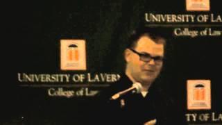 Law School Grad Brunch Speech University of La Verne College of Law 2014