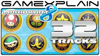 Mario Kart 8:  All 32 Tracks! (Full Race)