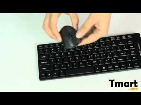 2f9c5a37b14 31.98 8001 2.4G Wireless Computer Keyboard and Optical Mouse Black-C02519