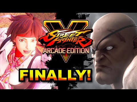 SFV AE * Sakura Trailer Breakdown / Sagat, Cody & Blanka Are Back!