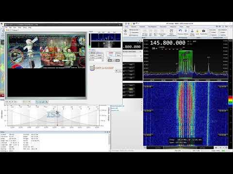 2020-01-01: ISS: SSTV (FM) @ 145.8 MHz