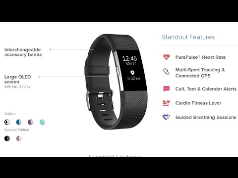 Обзор FitBit Charge 2