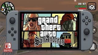 GTA SAN ANDREAS NINTENDO SWITCH ANDROID