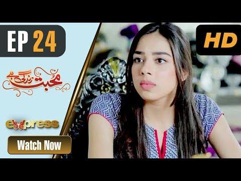 Mohabbat Zindagi Hai - Episode 24 - Express Entertainment Dramas