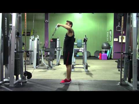 Cable Upright External Rotation - HASfit Rotator Cuff Exercise Demonstration - Exercises