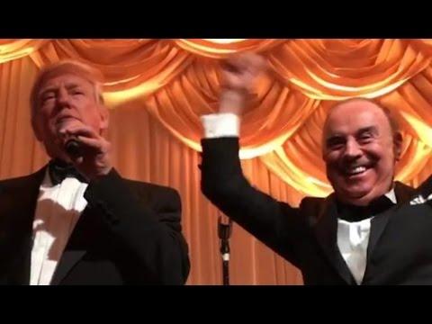 Donald Trump & His Pal Joey No Socks, a Gambino Family Associate Whom Trump Claimed He Didn
