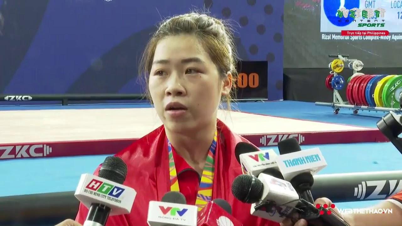 [[TRỰC TIẾP]] Ngày thứ 3 SEA Games 30: Hoàng Thị Duyên – CK Nội dung cử tạ 59 kg nữ