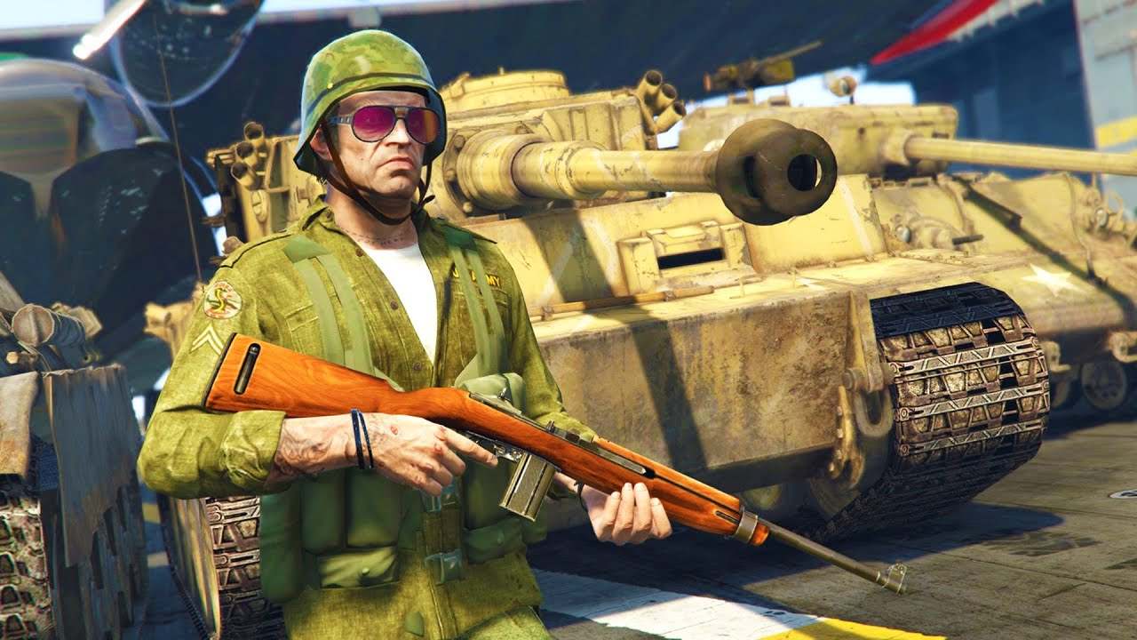 gta 5 real life military mod world war 2 tanks planes