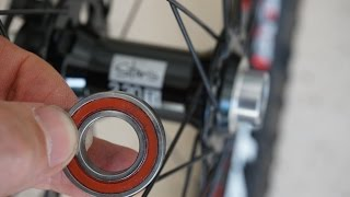 How to install new hub bearings