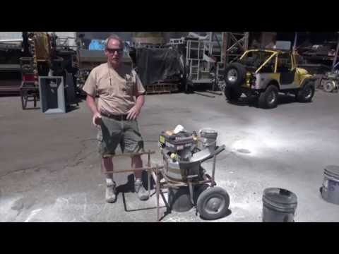 Keene's RC1 Rock Crusher and New Cart
