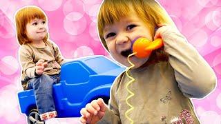 Bonjour Bianca ! Vidéo - chanson en français pour enfants. L'aire de jeux