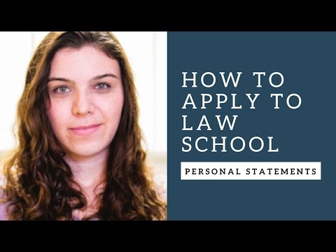 How to Apply to Law School: Writing a Winning Personal Statement