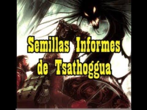 27 Semillas Informes de Tsathoggua Mitología HP LovecraftMitos de Cthulhu