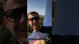 Виктор Литвинов и Валерий Блюменкранц в сторис 12.09.2019.