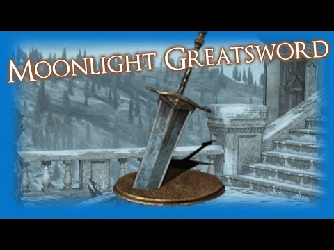 Dark Souls 3 - MOONLIGHT GREATSWORD Weapon Review