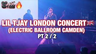 Lil Tjay London Concert Live Show (Electric Ballroom Camden) ft DigDat PT 2/2 @Acesiz