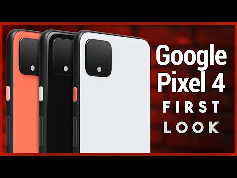 Pixel 4 & 4 XL First Look - Hands-On with Google's New Flagship Phones