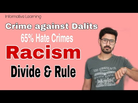 Caste-Religion Based Crimes | Racism | Human Chain | Informative Learning