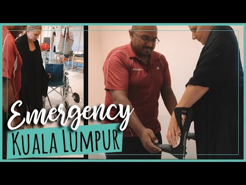 Kuala Lumpur Vlog | Urgent Care at Prince Court Medical Centre