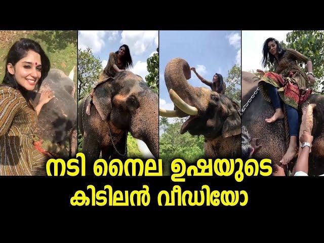 നടി നൈല ഉഷയുടെ കിടിലൻ വീഡിയോ   Actress Nyla Usha Photoshoot   Film News