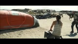Elysium (2013) Gun Scene