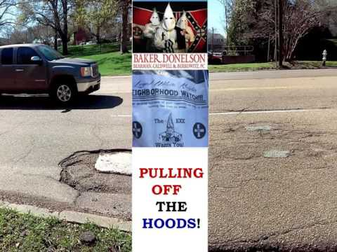 CITY OF JACKSON Mississippi POTHOLES ISSUE & EXPOSING BAKER DONELSON