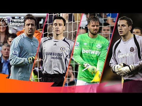 When Outfield Players Go In Goal | Premier League Edition