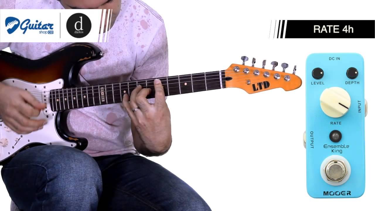 mooer ensemble king analog chorus guitarshopce duetos escola de m sica youtube. Black Bedroom Furniture Sets. Home Design Ideas