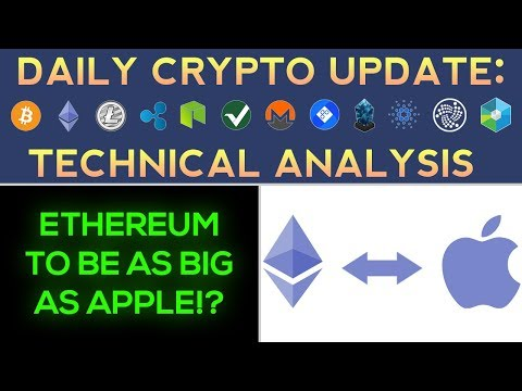 Ethereum To Be As Big As Apple! + The Next BIG Crypto Move Soon?