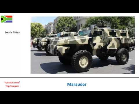 Marauder or Lazar 2, ambush protected track performance