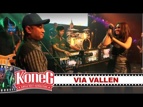 KONEG LIQUID feat Via Vallen - Laguku [LIVE CONCERT - Liquid Cafe] [Dangdut Koplo] 2nd