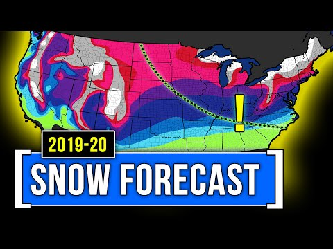 How Much Snow You Can Expect This Winter [2019]