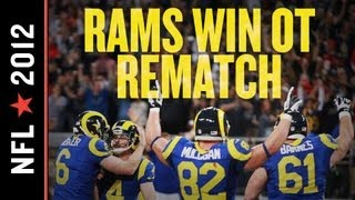 Rams vs 49ers 2012: St. Louis Claws Back into NFC Playoff Picture with 16-13 Overtime Win