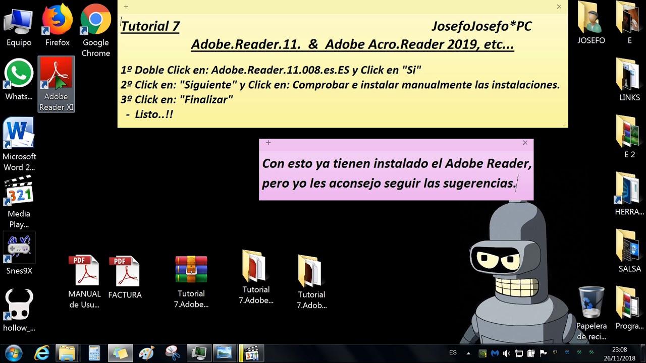 adobe reader offline update