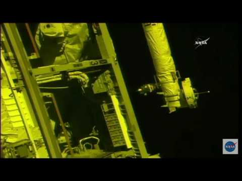New Crew Docks with Space Station