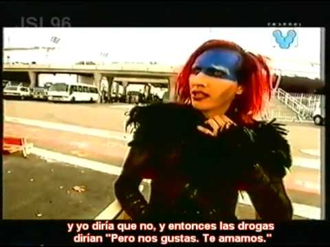 Marilyn Manson entrevista Channel V, Big Day Out Festival ...