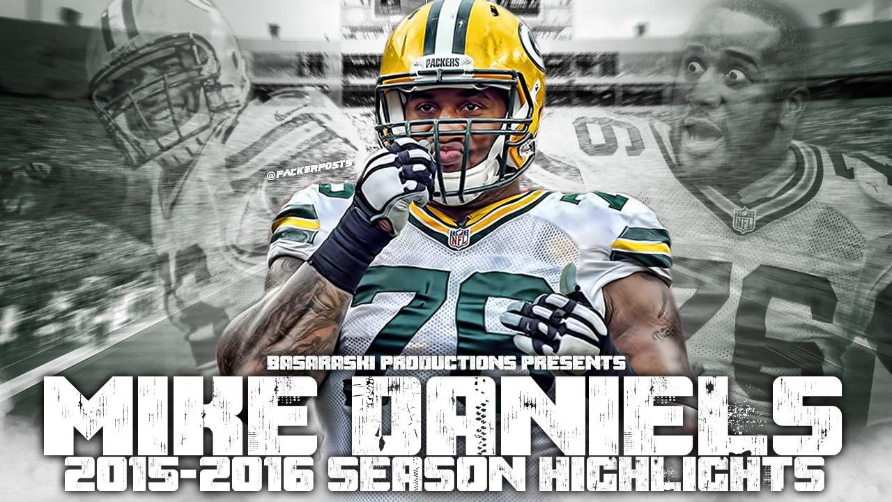 Mike Daniels 2015 16 Season Highlights