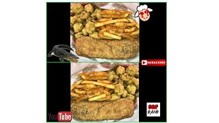 FRIED ALLIGATOR AND SHEEP HEAD FISH BASKET!! COOKING WITH SBF PART 9