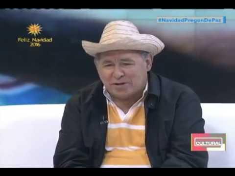 Gualberto Ibarreto entrevistado en Noticiero Cultural de VTV