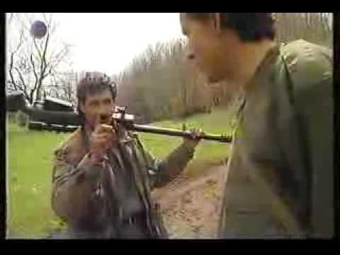 Deutsche Scharfschützen im Kosovo Krieg