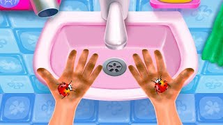 Bubble Party - Crazy Clean Fun Bath Time Kids Game - Kids Good Behaviors Educational Game For Kids