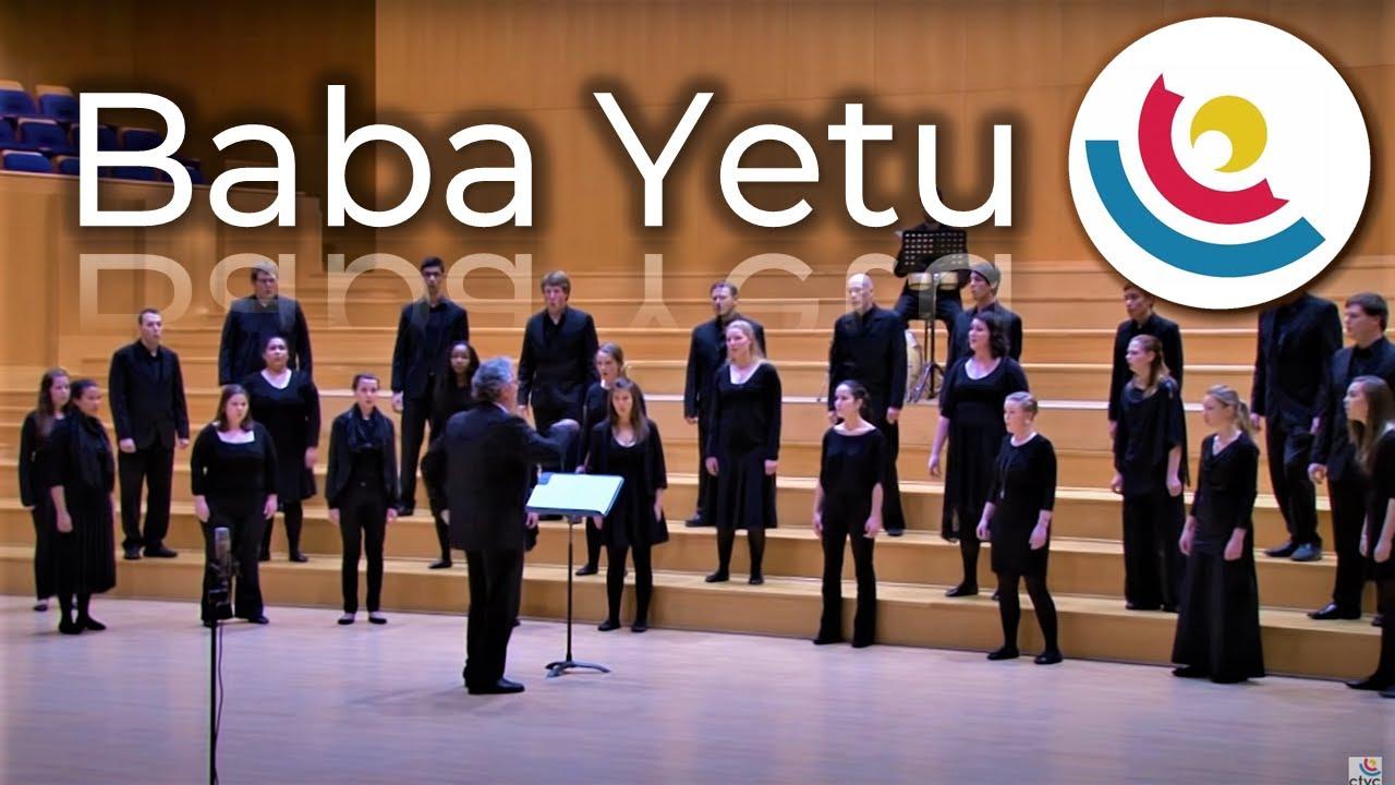 Cape Town Youth Choir Baba Yetu Youtube