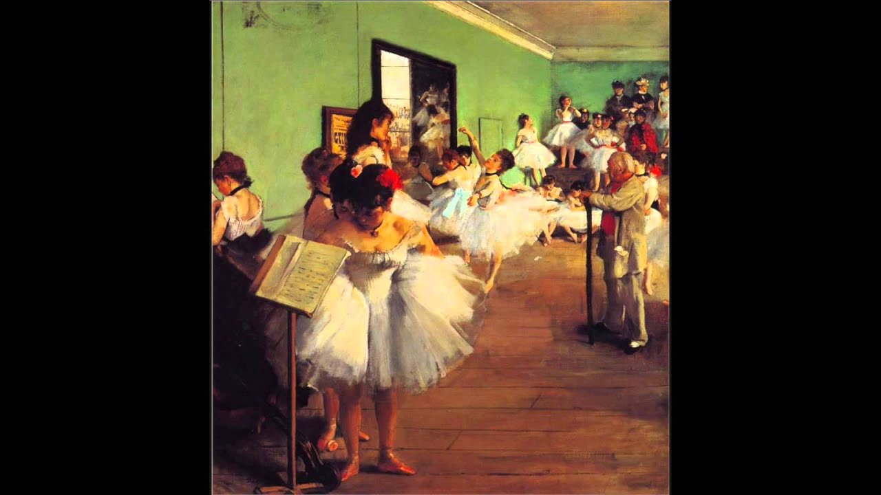 Edgar Degas The Dance Class 1874 Youtube