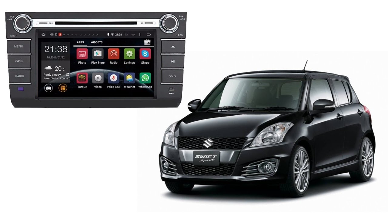 touch screen android 5 1 car dvd gps for suzuki swift 2008 review rh youtube com Suzuki SX4 2016 Suzuki Swift